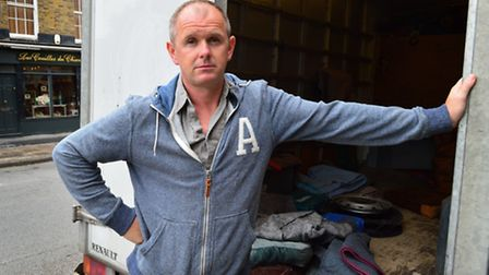 Darren Hudson of Tara antiques has already handed in his notice and is set to relocate his business