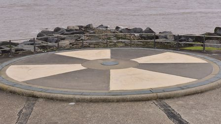 Britain's most easterly point, Ness Point, in Lowestoft will host a Chalk Festival. PHOTO: Nick But
