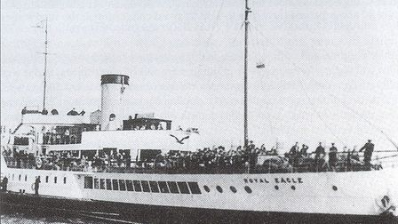 The Dagenham evacuees aboard Royal Eagle in September 1939. Picture: Courtesy of Chris Brooks