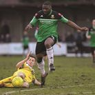 Leon Smith (right) had offers to join other teams but has opted to stay at Hendon. Pic: Andrew Aleks