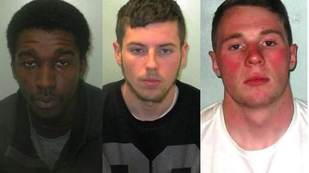 Left to right: Ashley Claircin, Darren Arnold and David Doyle