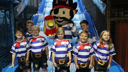 Lowestoft & Yarmouth Rugby Club has teamed up with Sentinel Leisure's Adventure Island Play Park for