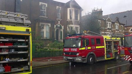 Ten fire crews were scrambled to Craven Park Road shortly after 6am this morning