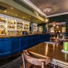 The newly refurbished bar at The Canonbury, Islington