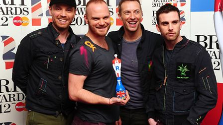 Coldplay has been longtime supporters of Kids Company. File pic: Ian West/PA Wire