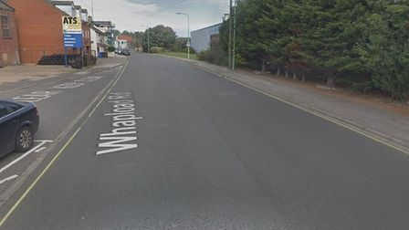 BT will be carrying out the work on Whapload Road in Lowestoft for two days next week. Picture: Goog