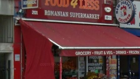 Food 4 Less has been fined almost £2,500 (Pic credit: Goole streetview)