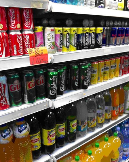 The shop has a selection of soft drinks and alcohol for sale (Pic credit: Brent Council)