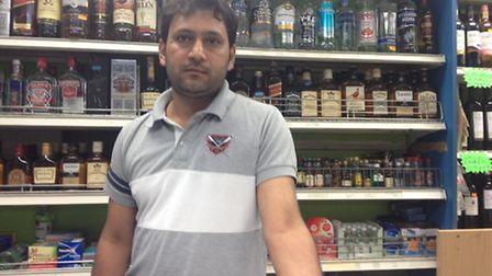 Shahid Akram is upset his shop has been named as one of the dirtiest in the country (Pic credit: Nat