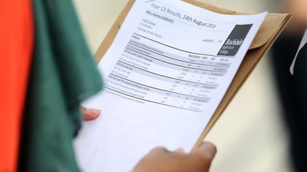 Students across the borough will be receiving their A-level results today