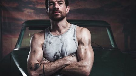 Jonathan Ollivier, 38, as the lead role of Luca in Matthew Bourne's The Car Man