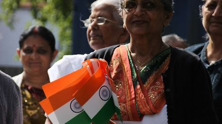 The Brent Indian Association celebrated Indian Independence Day with a flag hoisting ceremony