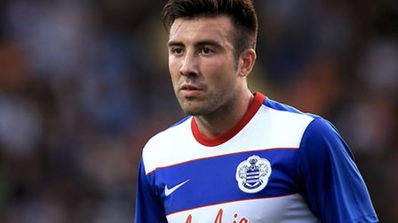 Michael Doughty was one of 10 changes made by QPR boss Chris Ramsey for Tuesday night's game