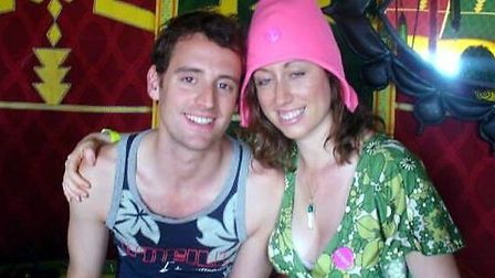 Caroline Ambrose with her brother Simon Ambrose (pic credit: Central News)