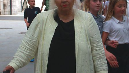 Anna Arresti, 63 is locked in a legal dispute with her half brother Harry Kousouros over their paren