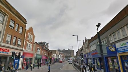Attack took place in Wembley High Road (Pic credit: Google streetview)