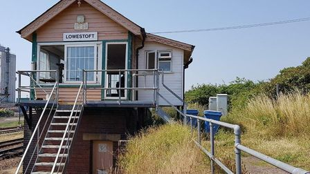 Lowestoft signal box, which will open to the public during the Heritage Open Days. Pictures: Network
