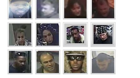All 12 are wanted by Brent Police