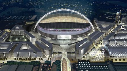 Quintain is developing Wembley Park