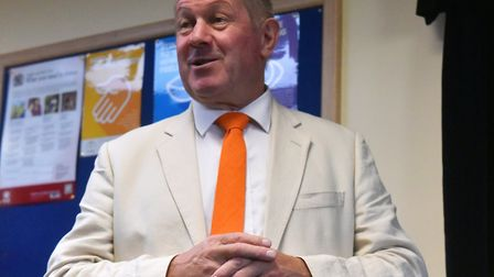 Tim Passmore, Suffolk Police and Crime Commissioner. Picture: Jamie Honeywood