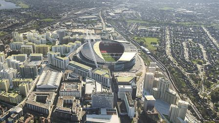 Developer Quintain has unveiled its vision for a business district in Wembley Park