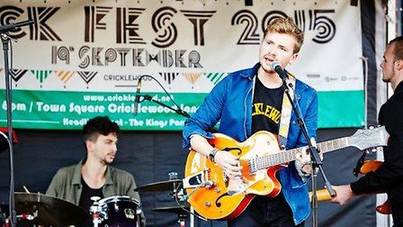 Kings Parade performed at this years Cricklewood Festival (Pic Credit: Thomas Ball)