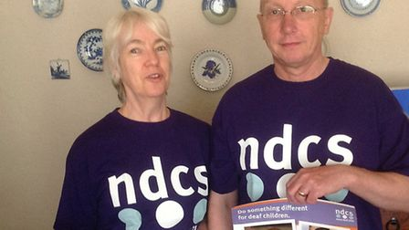 Anne and Philip Trapp were due to set out on the Thames path walk to raise funds for NDCS on Saturda