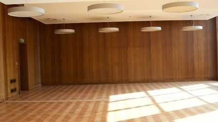 Former council committee room at Lycee International de Londres Kentish Town Pic credit: Adam Tho