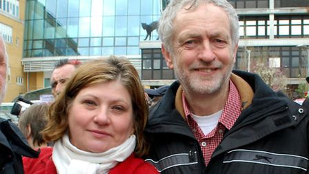 Emily Thornberry and Jeremy Corbyn pictured in 2013