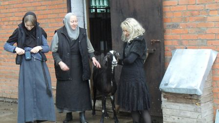 Nuns at the Russian Convent supported by St Martin's Church