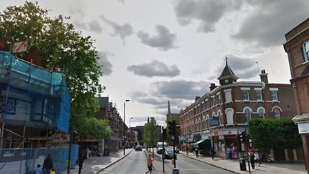 The attempted abudction took place on Willesden High Road yesterday (Pic credit: Google)