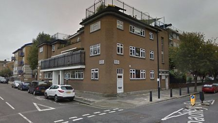 The scene of the stabbing in Salisbury Street (Picture: Google StreetView)
