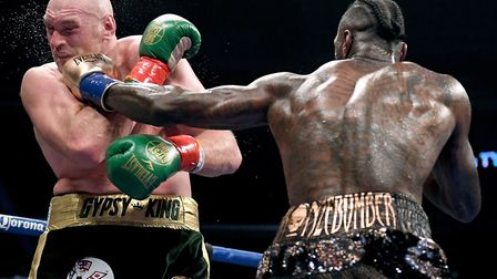 Alastair Campbell cannot wait for a rematch of the heavyweight title fight between Tyson Fury and De