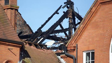 Nursery and primary pupils will return to lessons while fire damage is repaired (Pic Credit: Adam Th