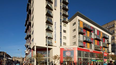 Wembley Central development is up for sale
