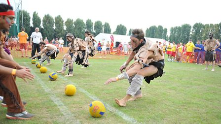 The fancy dress dodgeball competition is set to come to Finsbury Park next weekend.