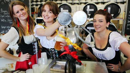 There will be no steins in Caledonian Park next month
