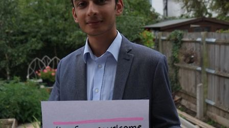 Anton Georgiou is inviting Brent residents to show their solidarity for Syrian refugees