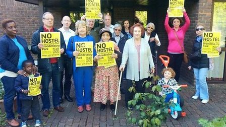 Some residents were against the hostel plans