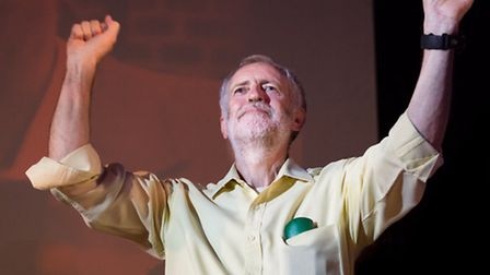 Jeremy Corbyn, who said he would consider female-only carriages Picture: Vickie Flores