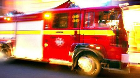 Fire crews were called to Ealing Road this morning