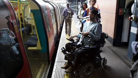Dawn Butler witnessed the difficulties disabled passengers face (credit: adam thomas)