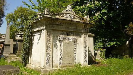 The Grade II listed Mausoleum of Joseph Hudson in Kensal Green Cemetery has been listed as heritage