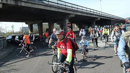 Brent Cyclists campaign group have spoken out against plans to redevelop the A5 at Staples Corner (P