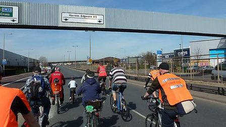Barnet Council said safe cycle routes will be available in the area