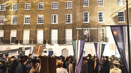 Clerkenwell's Myddelton Square features in the new film Suffragette. Photo: Hoxton Ferret