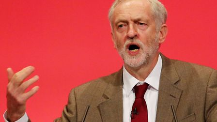 Labour Leader Jeremy Corbyn delivers his first keynote speech on day three of the Labour Party annua