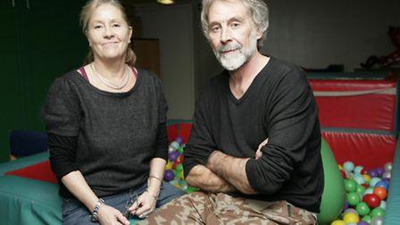 Glynis Lee MBE, pictured with her husband Doug