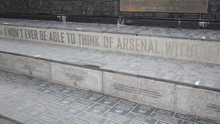 Arsenal Stadium management have recently put up anti-skating signs and anti-skating devices on the s