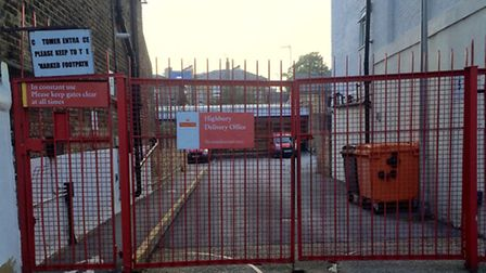 The Highbury sorting office in Hamilton Park, Highbury
